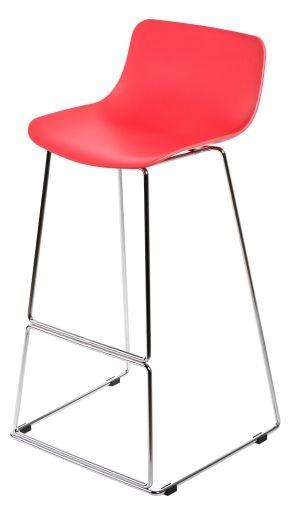 Barová židle Slide, červená