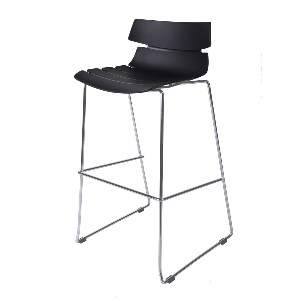 Barová židle Stolen, černá
