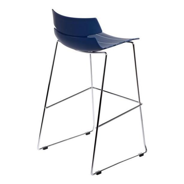 Barová židle Stolen, modrá