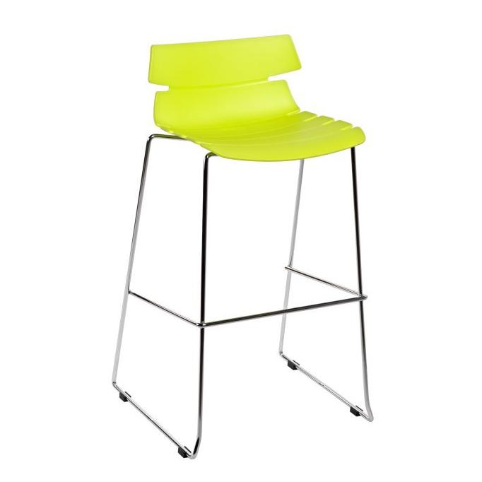 Barová židle Stolen, zelená