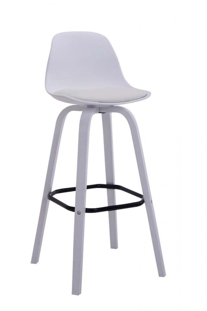 Barová židle Taris, bílá