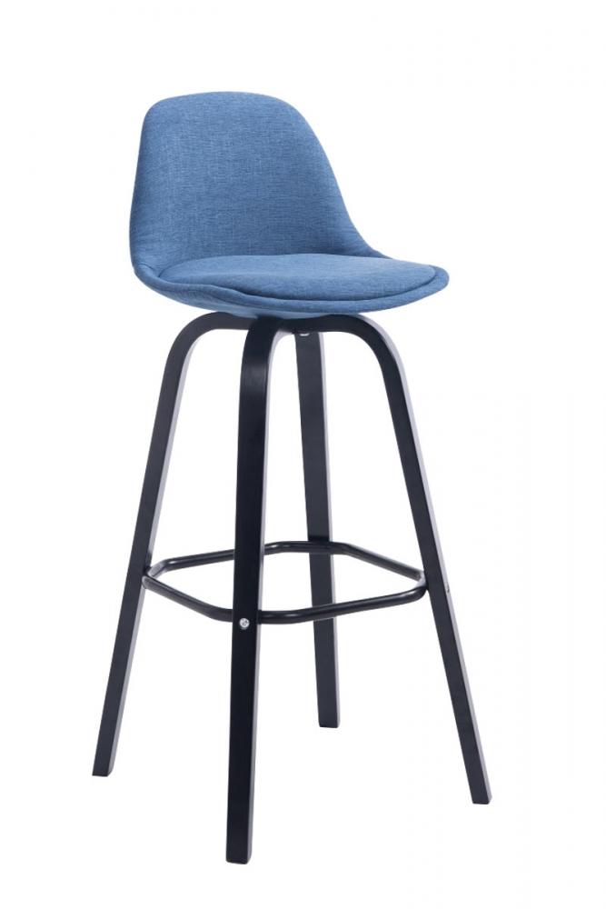 Barová židle Taris, modrá / černá