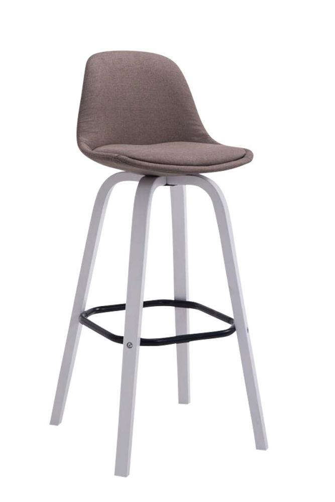 Barová židle Taris, písková / bílá
