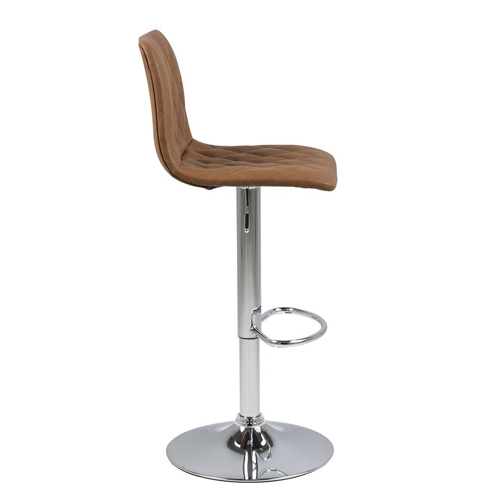 Barová židle Urma, holubičí hnědá