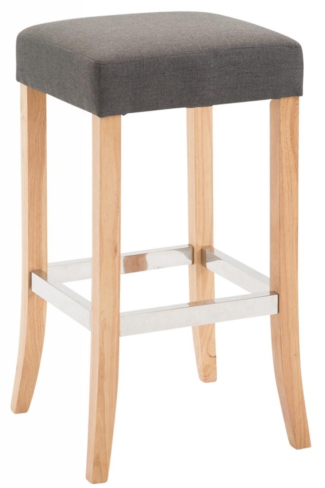 Barová židle Vent II., tmavě šedá