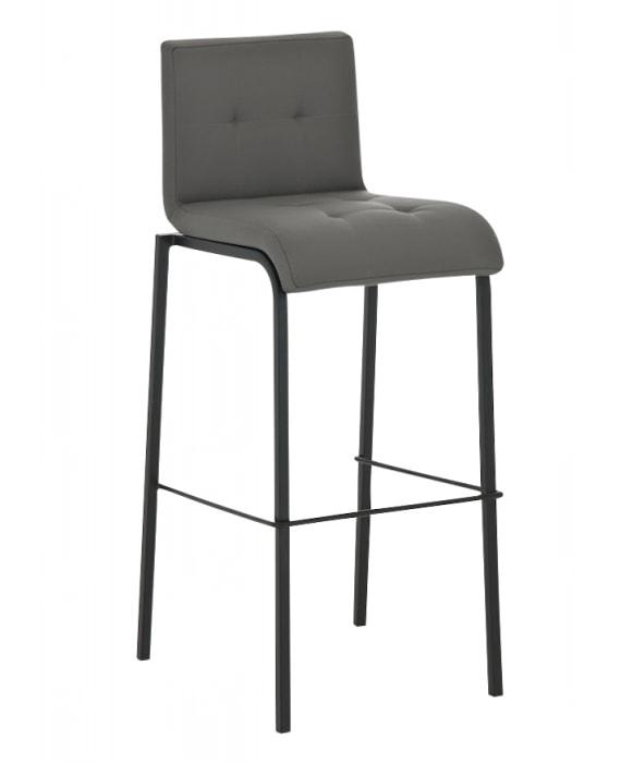 Barová židle Viola s černou podnoží (SET 2 ks)