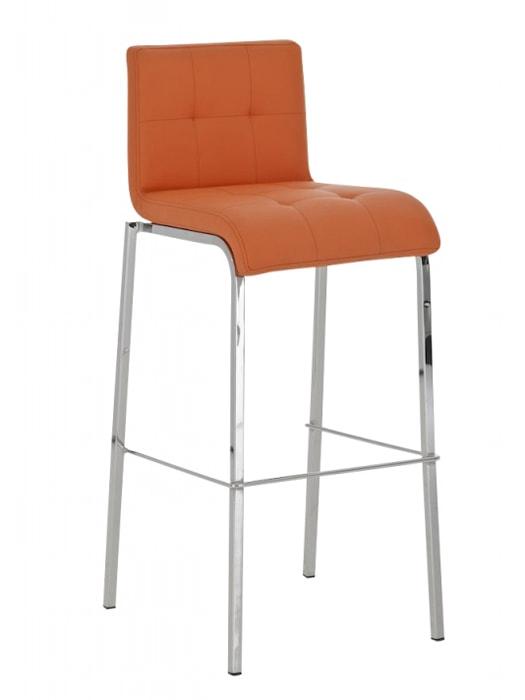 Barová židle Viola s chromovanou podnoží (SET 2 ks)