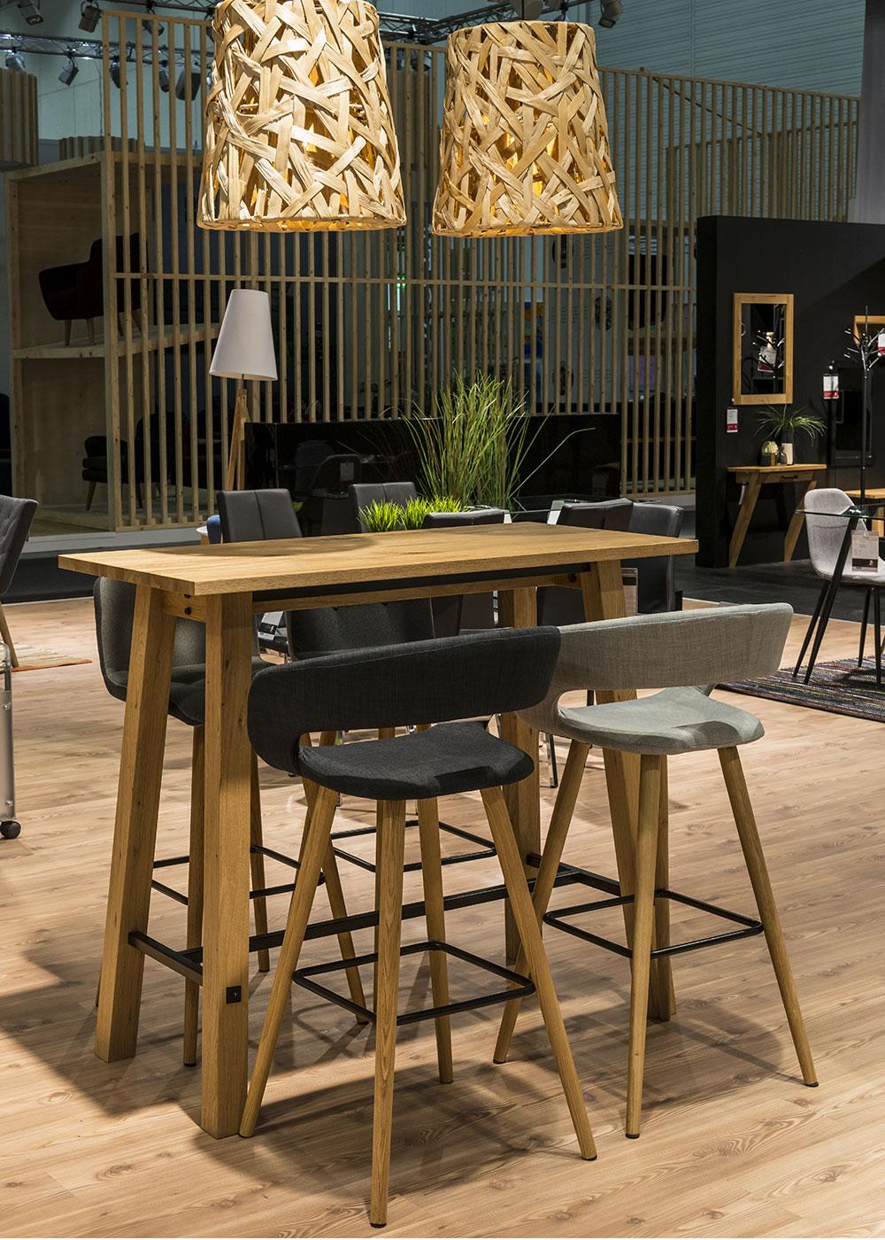 Barový stůl Kiruna, 120 cm
