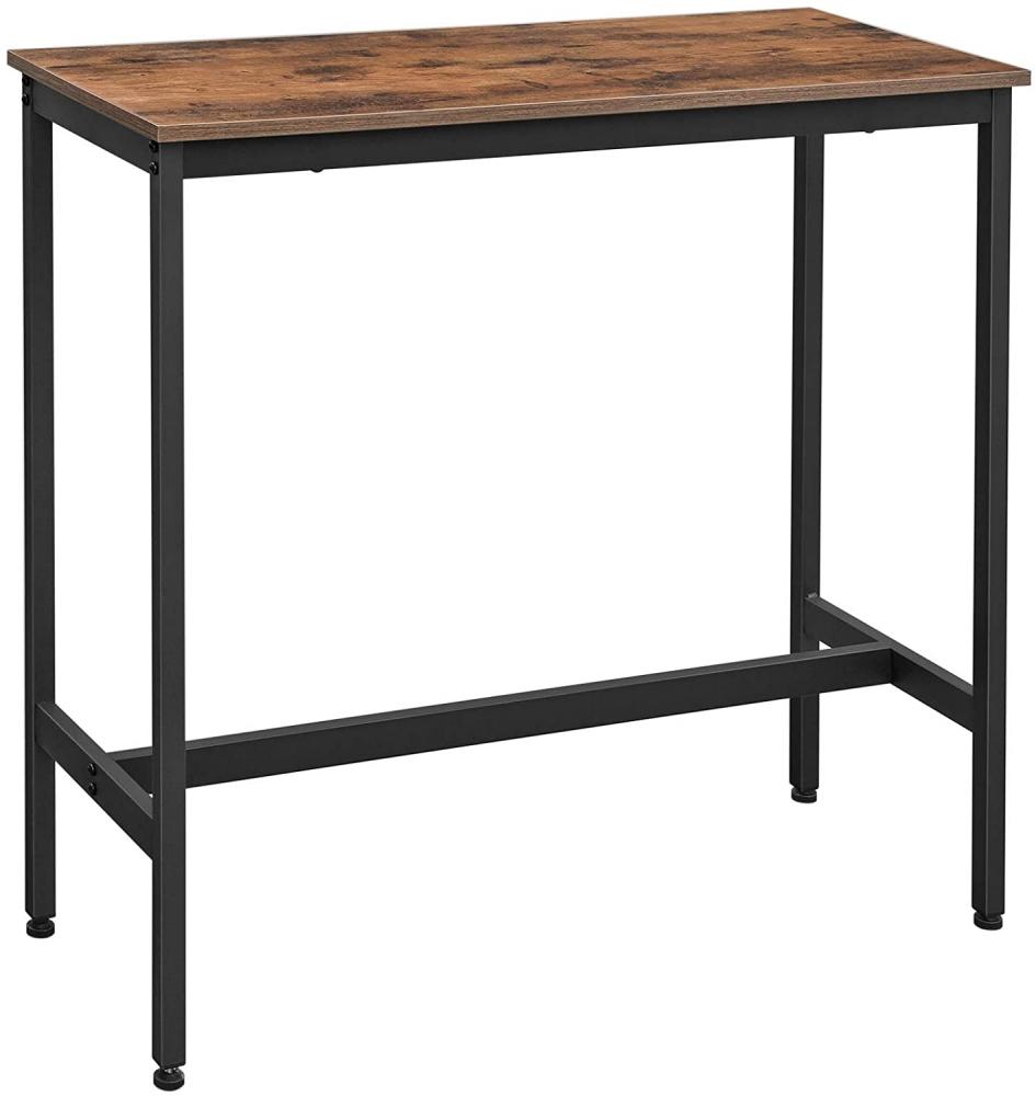 Barový stůl Lenor, 100 cm, hnědá