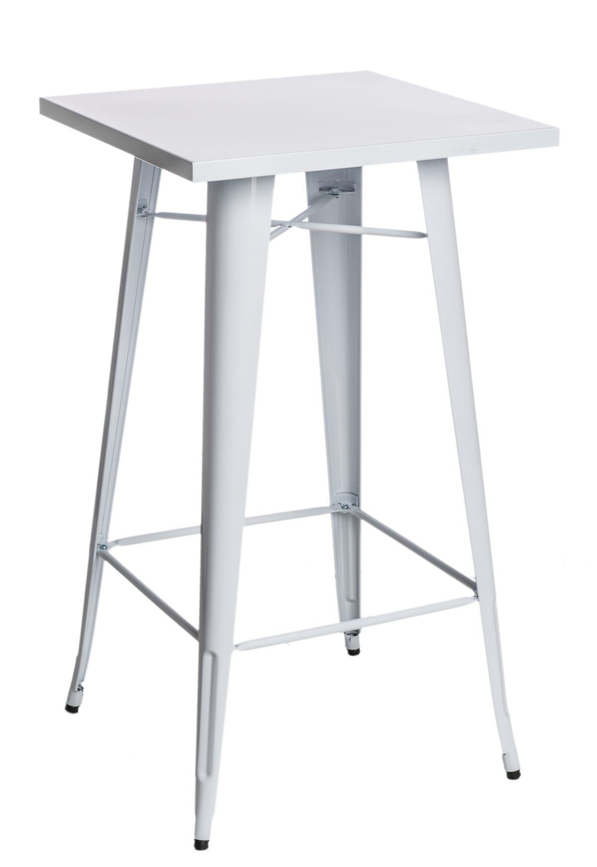 Barový stůl Mason, bílá