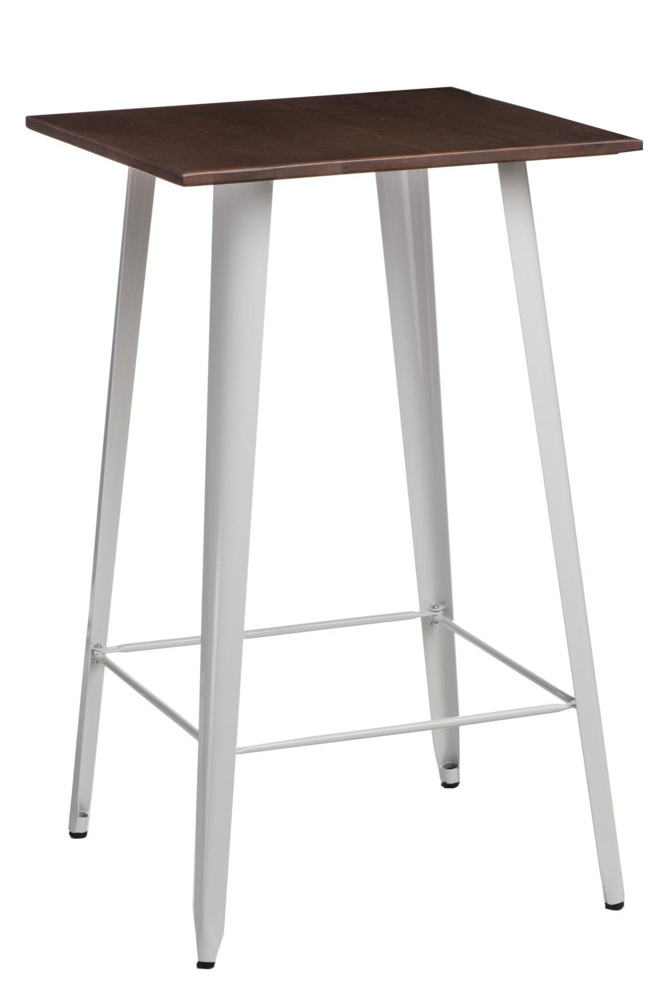 Barový stůl Mason, tmavé dřevo