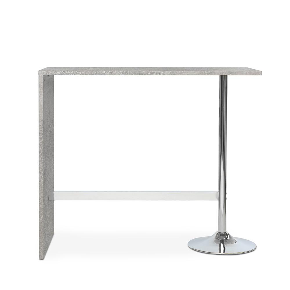 Barový stůl Paro, 120 cm, beton