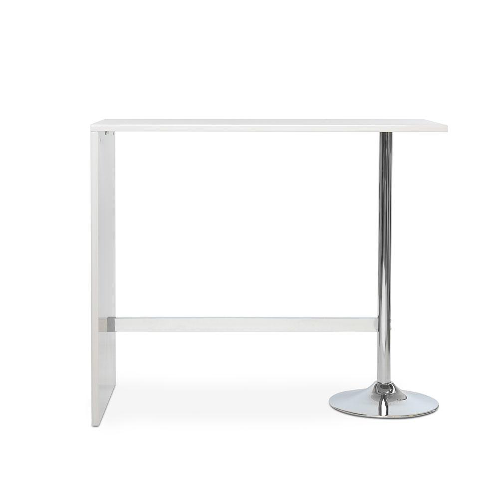 Barový stůl Paro, 120 cm, bílá