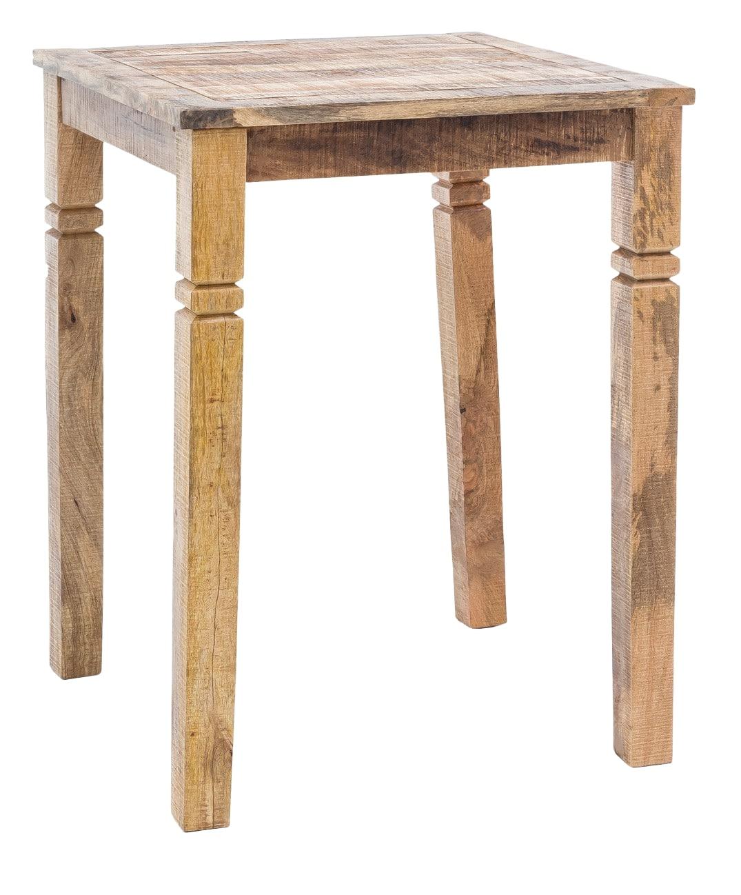 Barový stůl Rustica, 80 cm, mangové dřevo