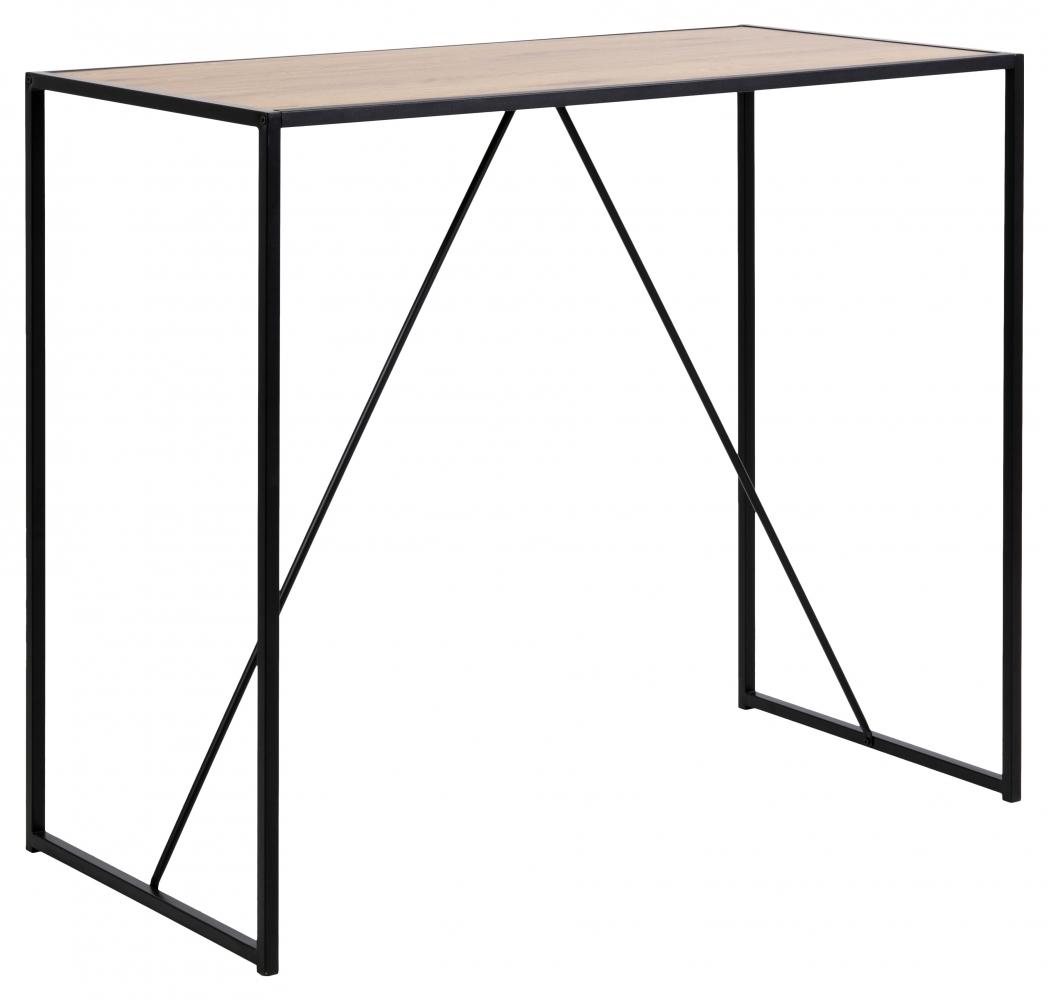Barový stůl Seaford I., 120 cm, divoký dub
