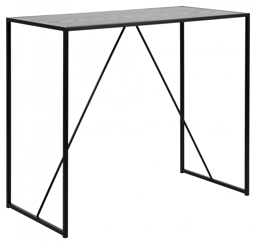 Barový stůl Seaford I., 120 cm, melaminový popel