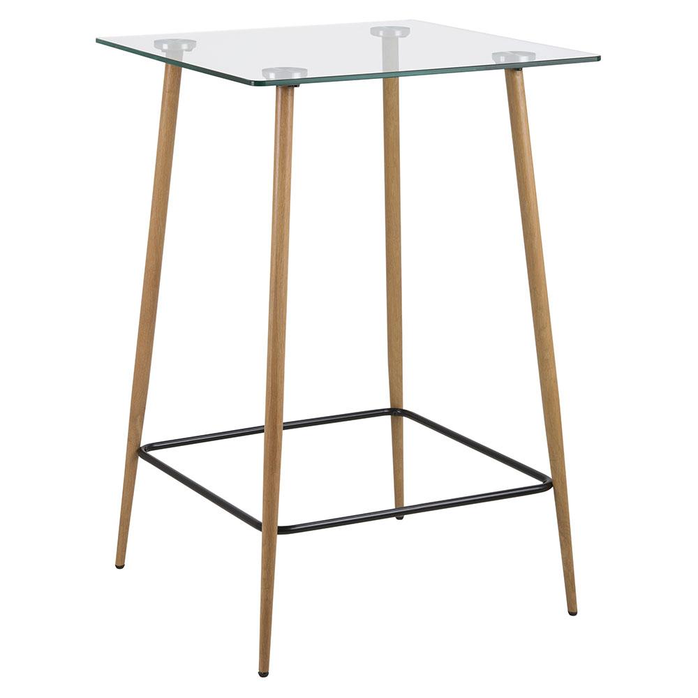 Barový stůl skleněný Wanda, 70 cm