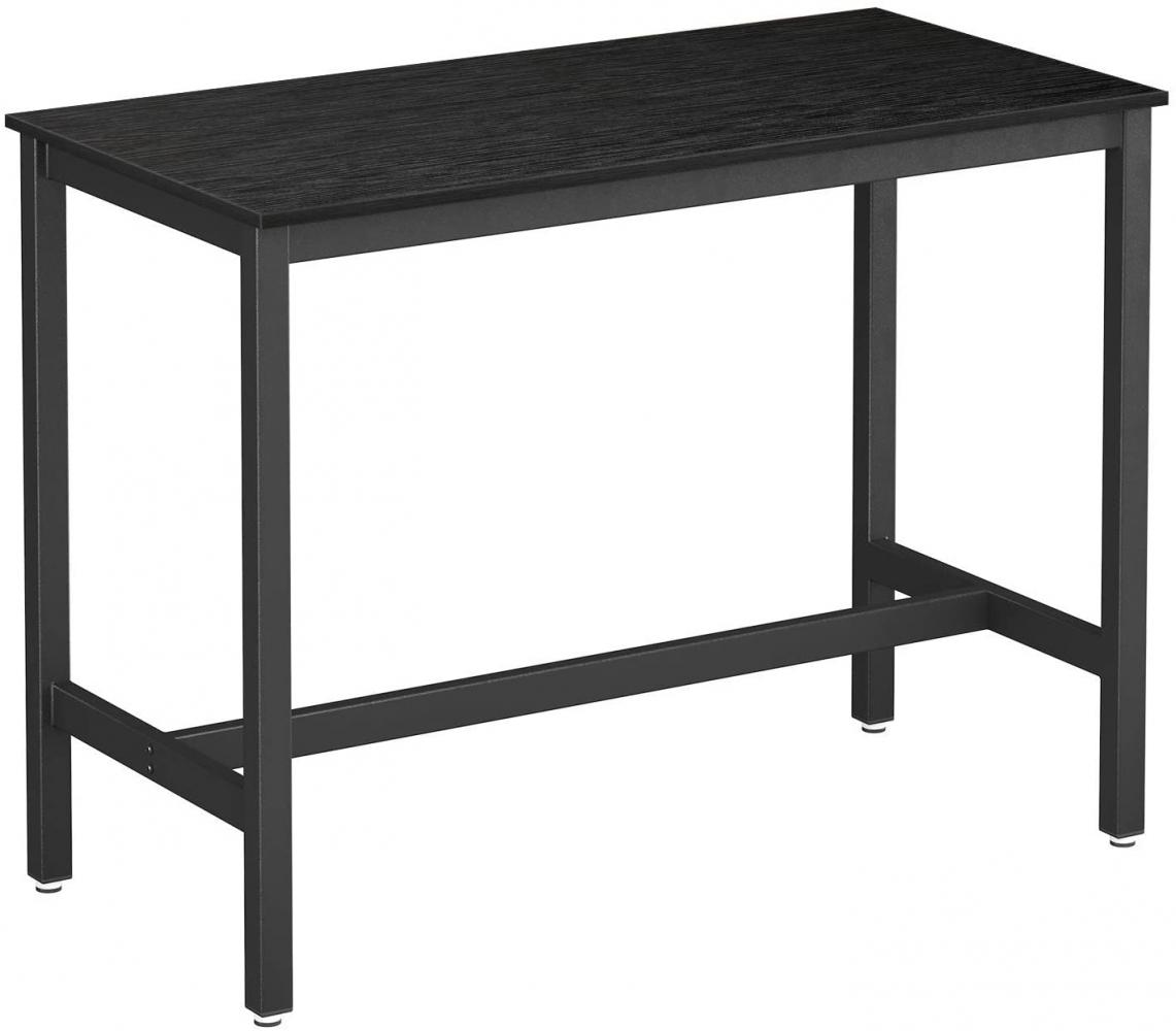Barový stůl Stella, 120 cm, černá