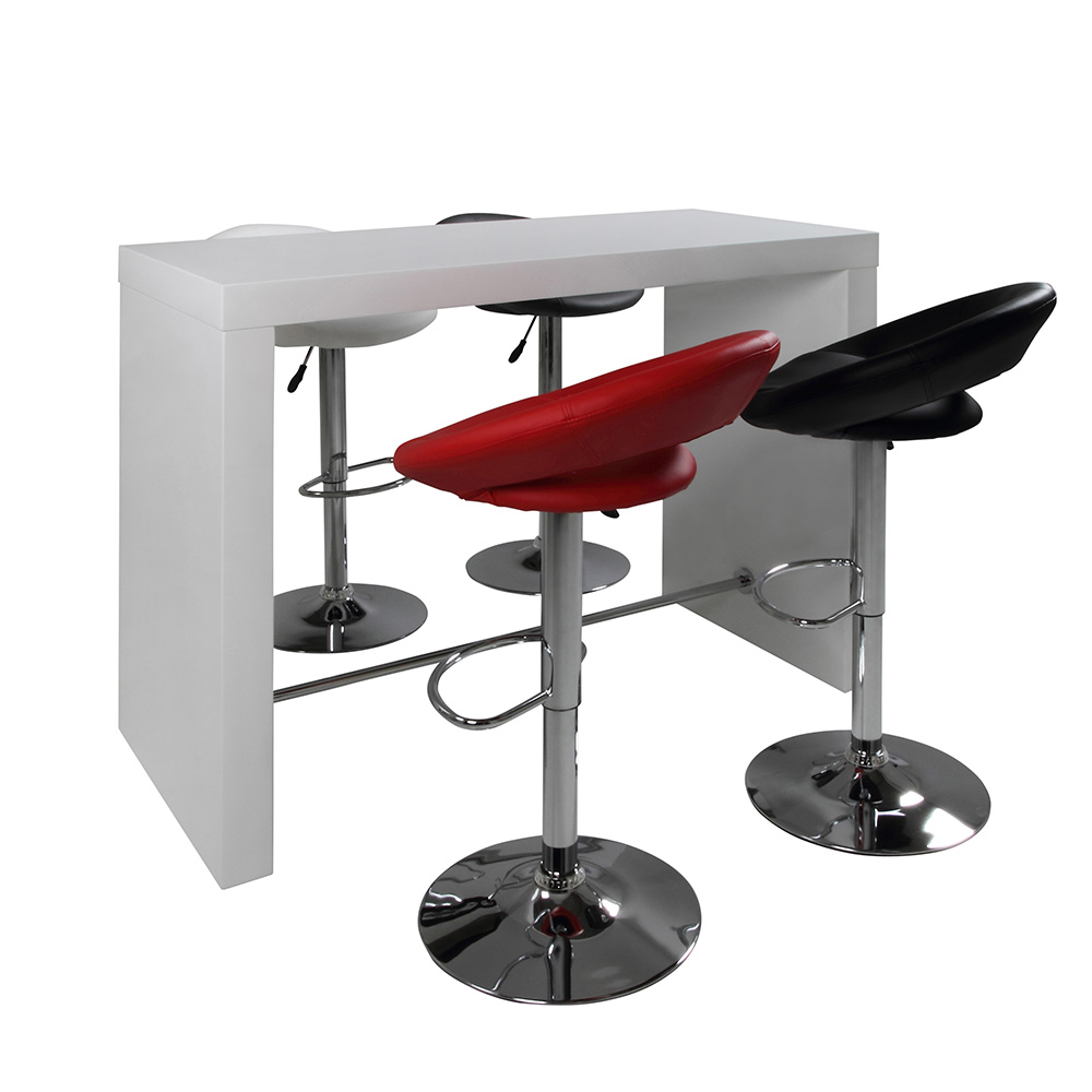 Barový stůl Strong, 130 cm, divoký dub