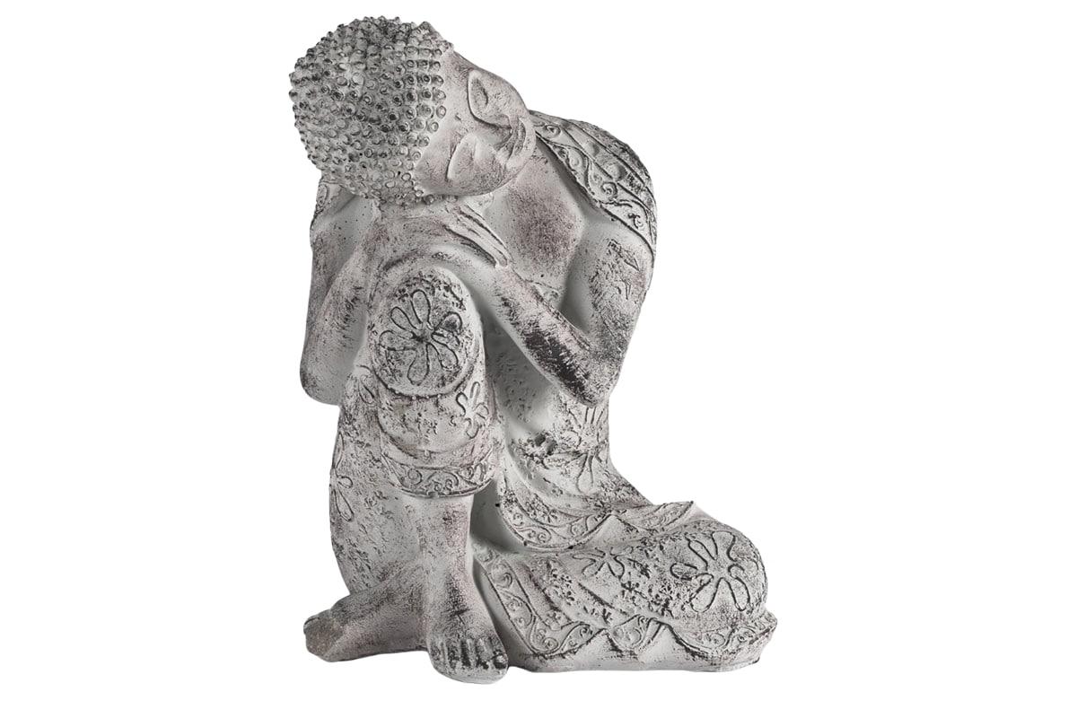 Betonová dekorace Buddha, 23 cm