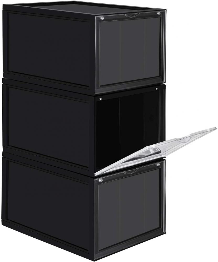 Botník Amy, 28 cm, černá