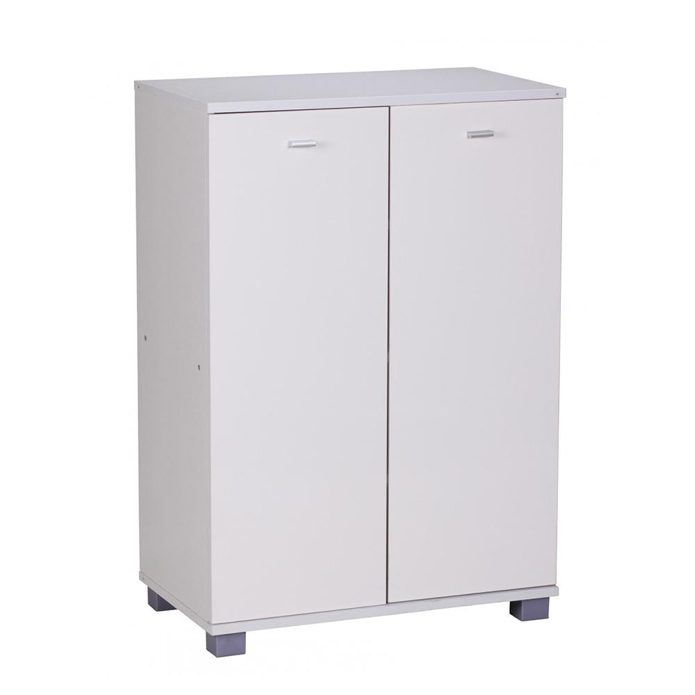 Botník / botníková skříň pro 12 párů Taja, 90 cm, bílá