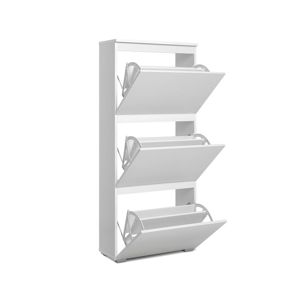 Botník s 3 výklopnými zásuvkami Picture, 133 cm