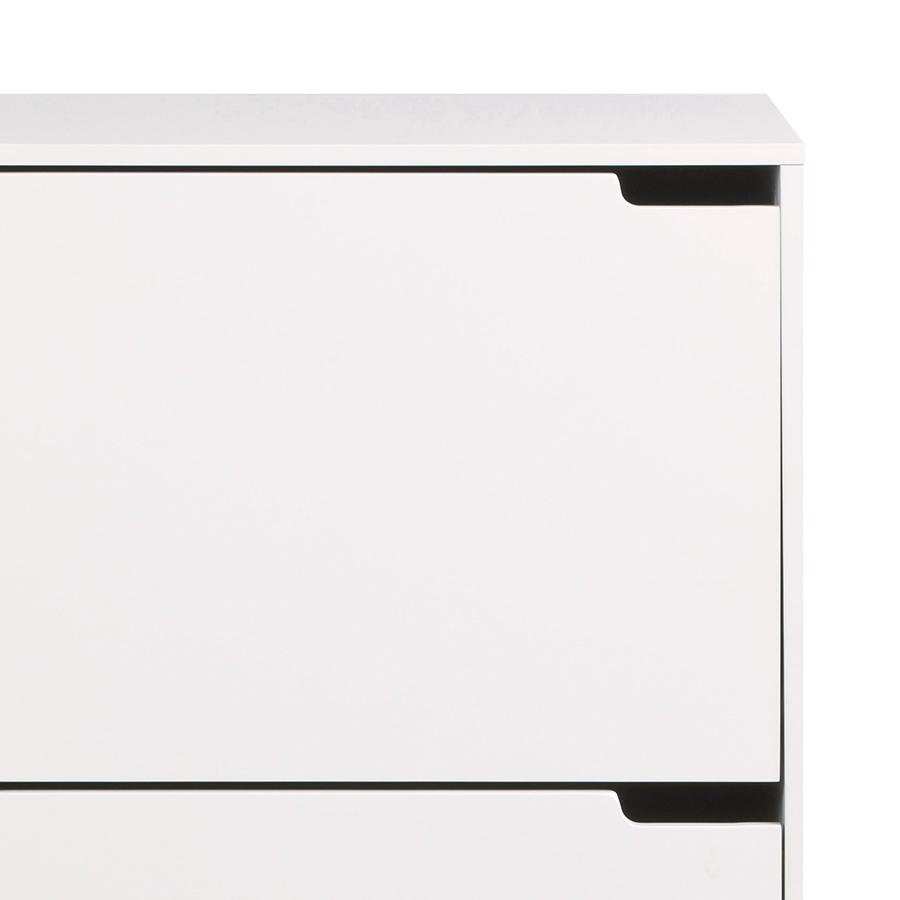 Botník s 3 zásuvkami Marika, 134 cm