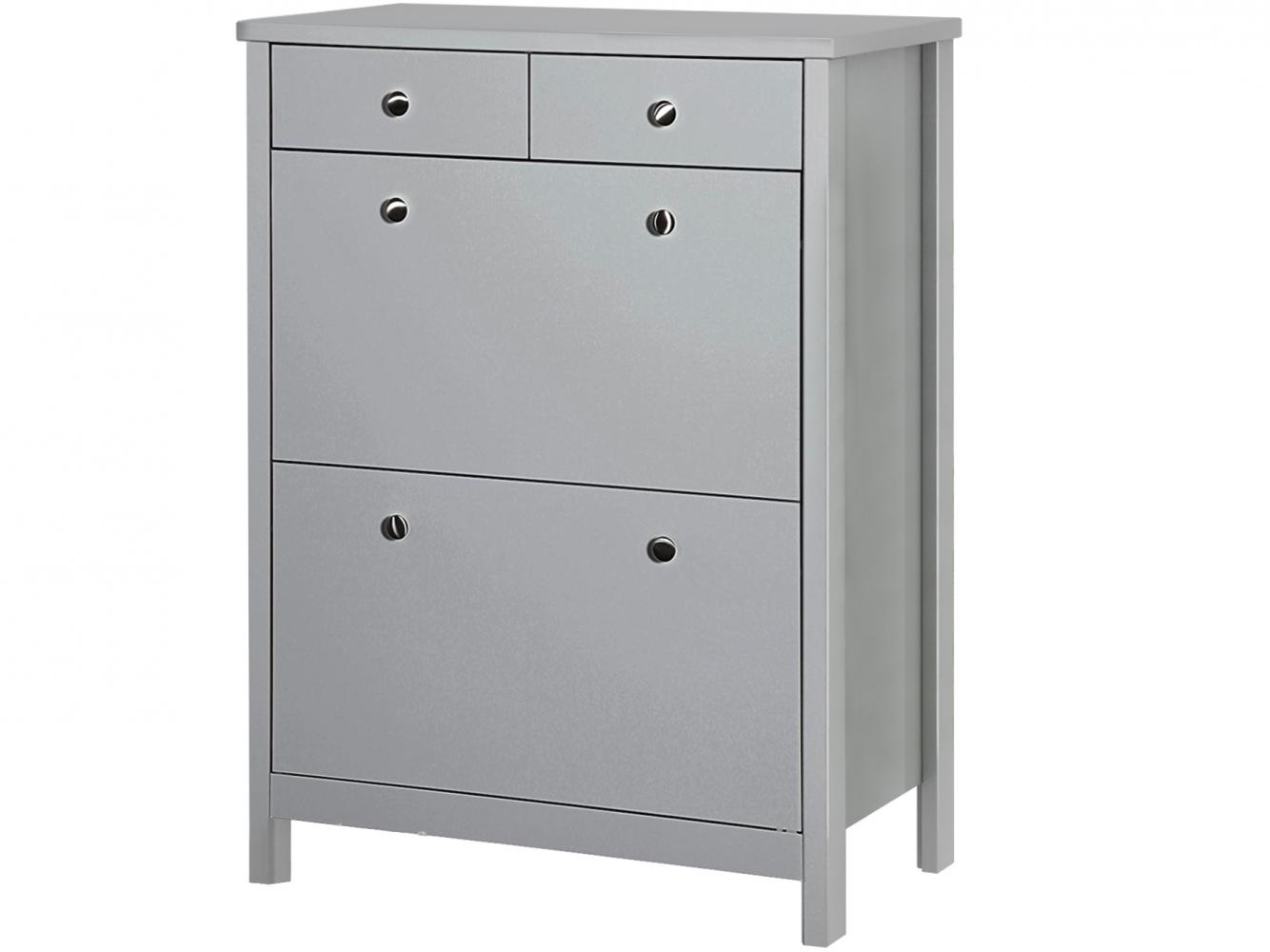 Botník Tange, 106 cm, šedá