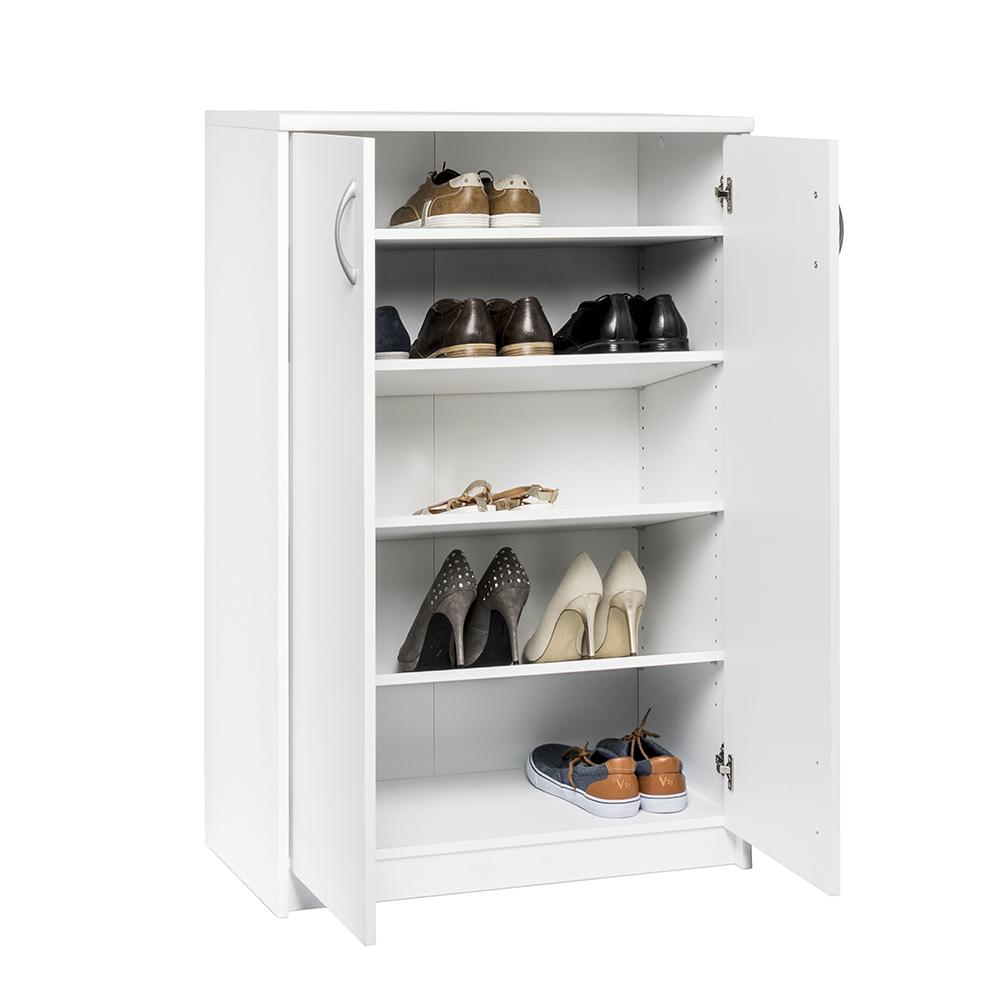 Botníková skříň Haven, 110 cm, bílá