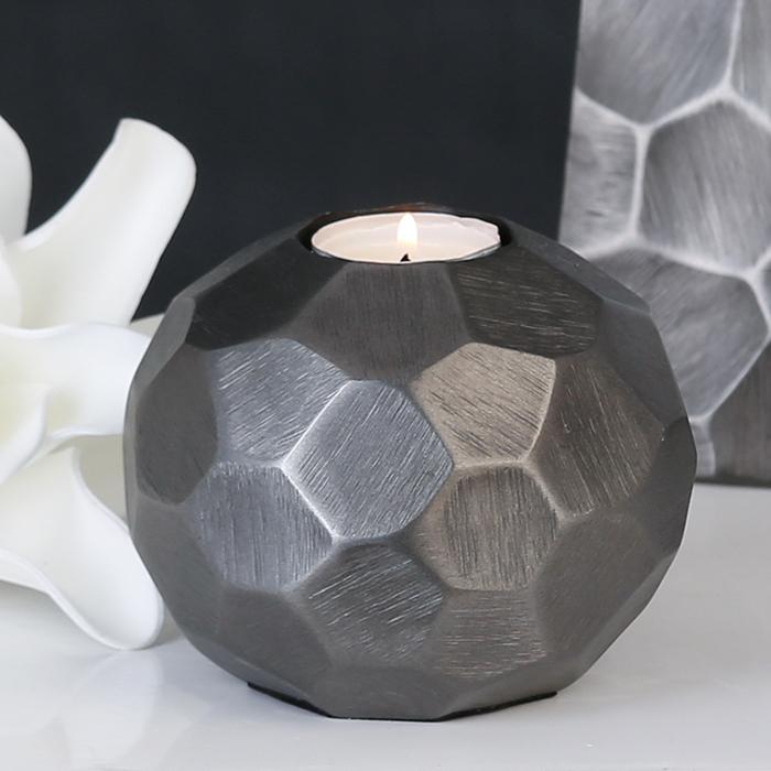 Čajový svícen hliníkový Nosta, 11 cm