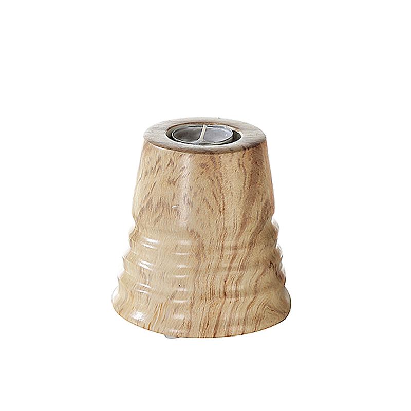Čajový svícen keramický Natural, 12 cm