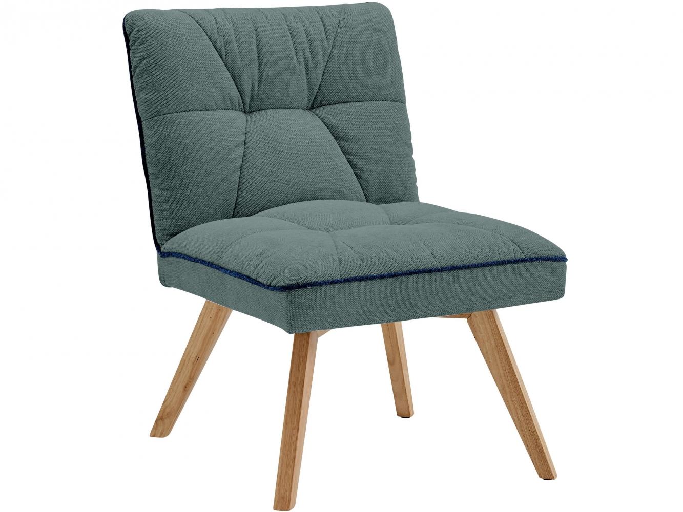 Čalouněná židle Belaris, zelená