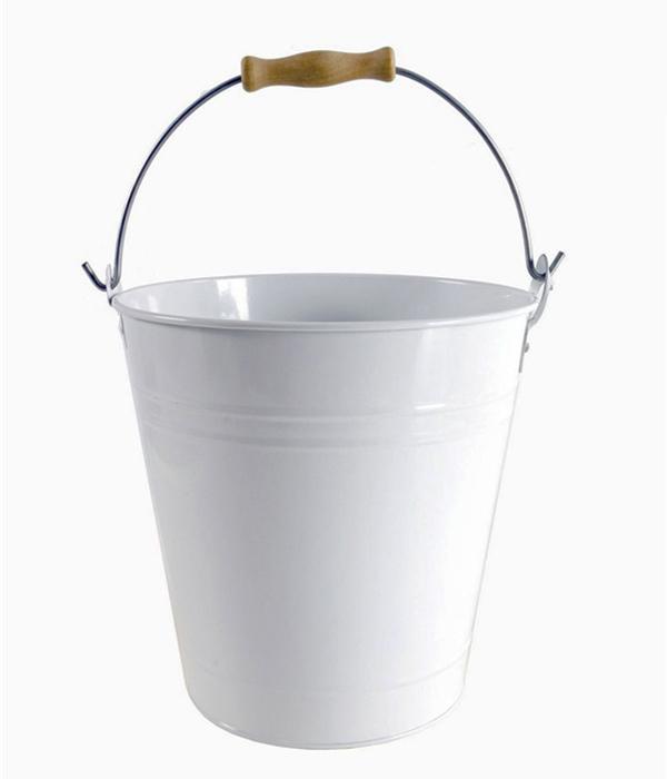 Chladič na víno s otvírákem Bucket, 23 cm, bílá