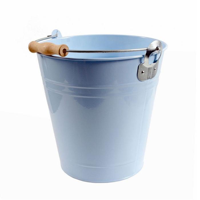 Chladič na víno s otvírákem Bucket, 23 cm, modrá