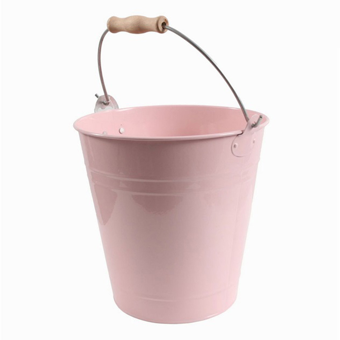 Chladič na víno s otvírákem Bucket, 23 cm, růžová