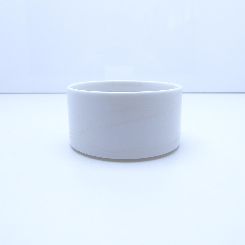 Cylindrická miska, 8 cm, list