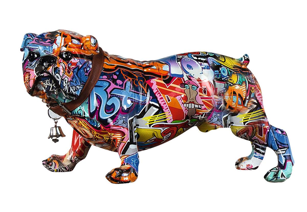 Dekorace Dog, vícebarevná