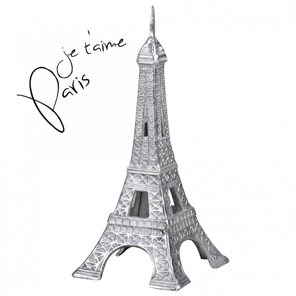 Dekorace Eiffel Tower, 53 cm, hliník