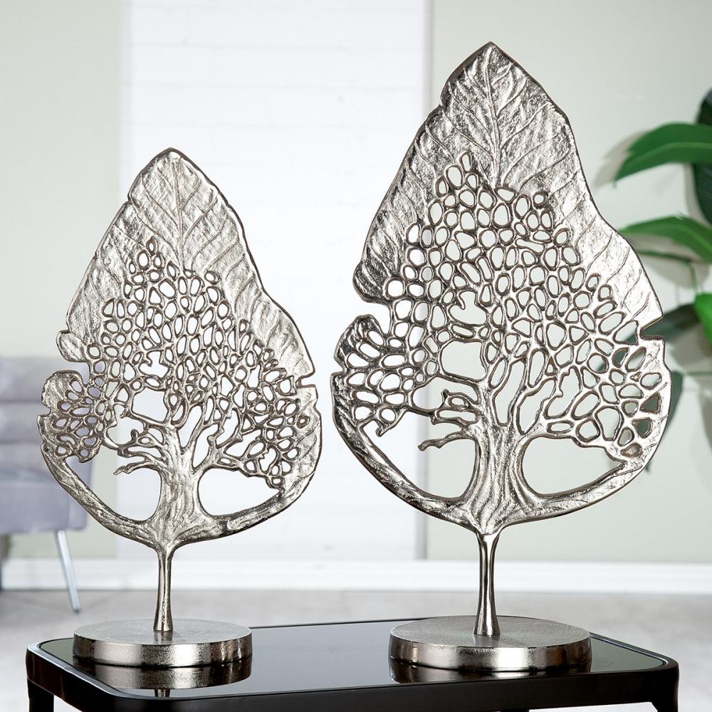 Dekorace Tree, stříbrná