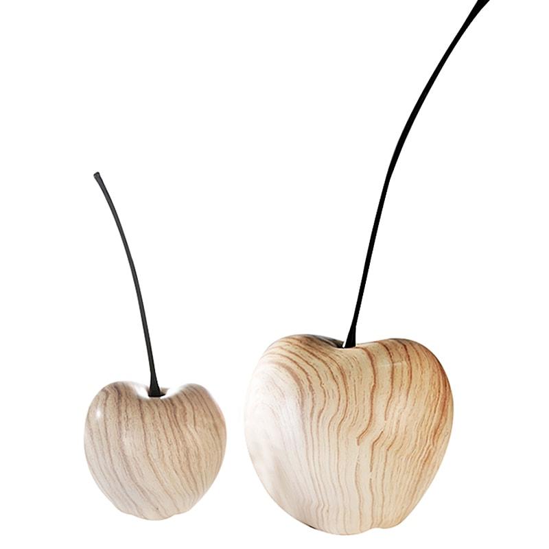 Dekorace třešeň Wood keramická, 42 cm