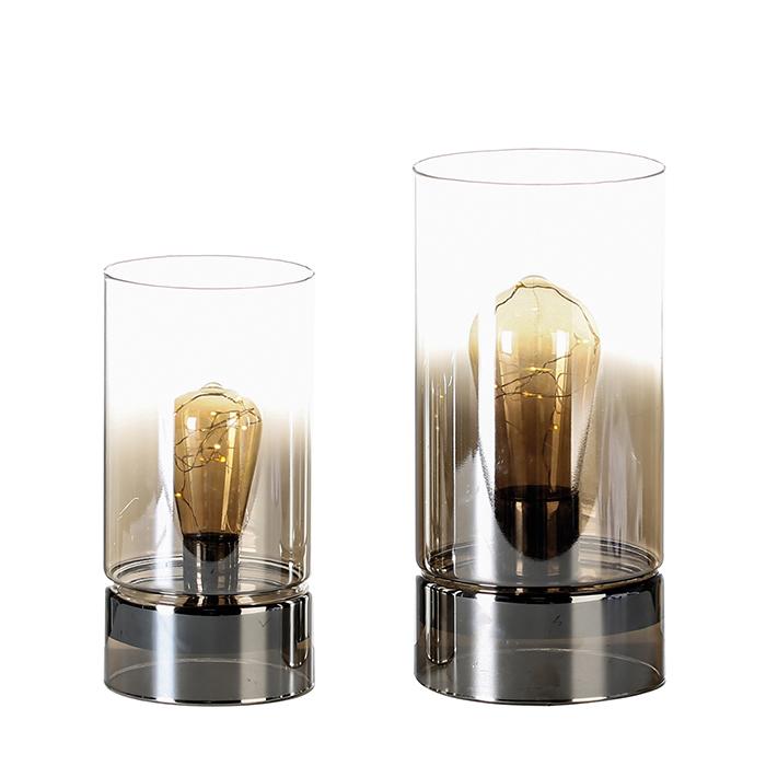 Dekorativní lampa Edison, 24 cm