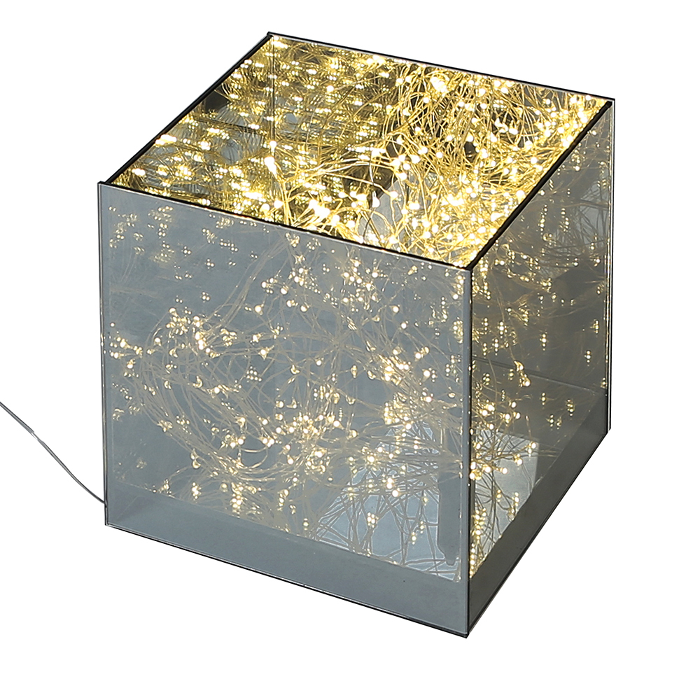 Dekorativní LED lampa Box, 20 cm