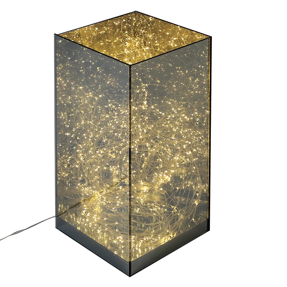 Dekorativní LED lampa Box, 40 cm