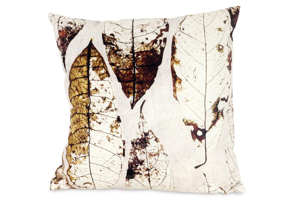Dekorativní polštář Big Leaves, 45 cm