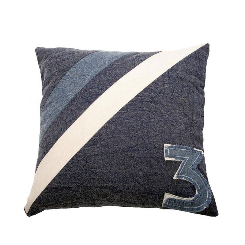 Dekorativní polštář Denim Blue, 45 cm