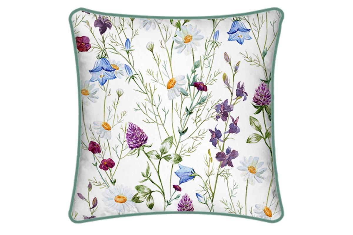 Dekorativní polštář Flowers, 45 cm