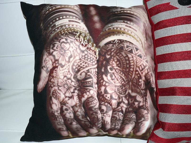 Dekorativní polštář Henna, 50x50 cm