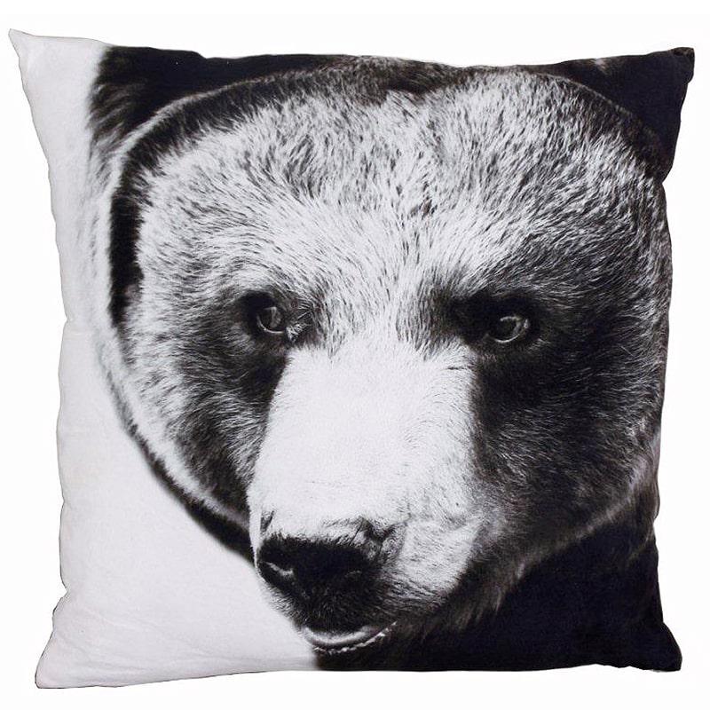 Dekorativní polštář Medvěd, 50x50 cm