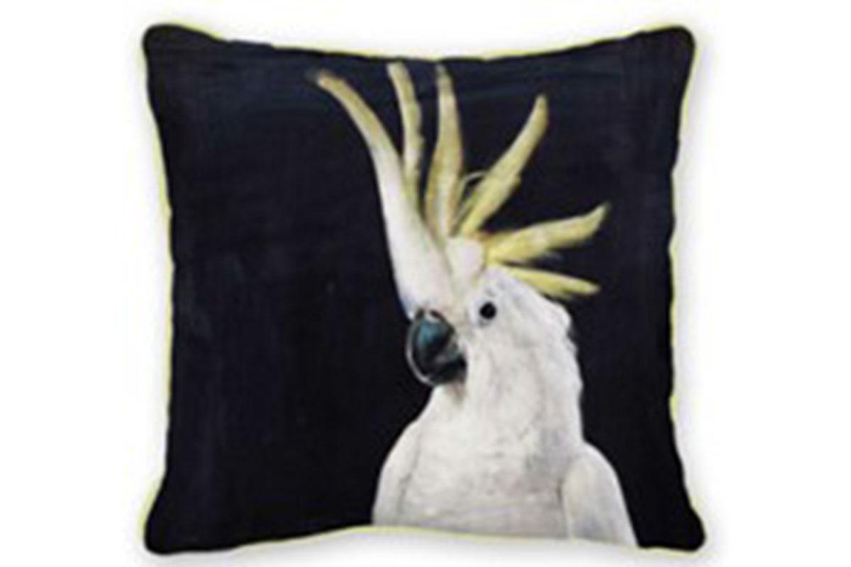 Dekorativní polštář Parrot, 45 cm